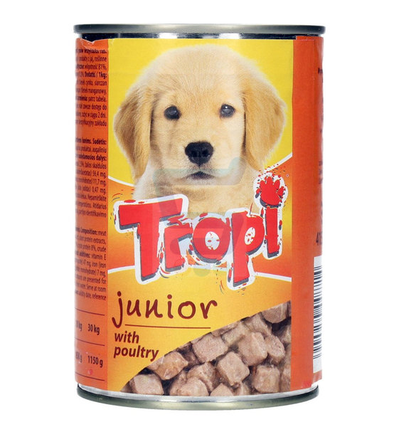 Консерва за куче Tropi Junior